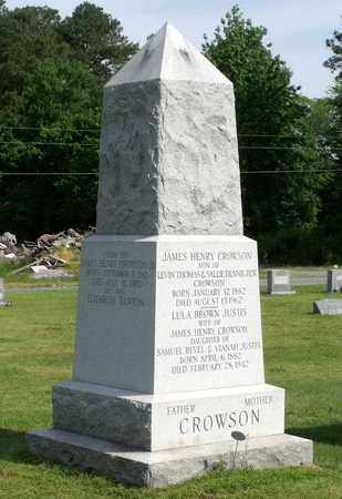 CROWSON, LULA BROWN - Accomack County, Virginia | LULA BROWN CROWSON - Virginia Gravestone Photos