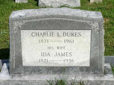DUKES, IDA - Accomack County, Virginia   IDA DUKES - Virginia Gravestone Photos