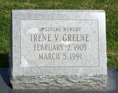GREENE, IRENE V. - Accomack County, Virginia | IRENE V. GREENE - Virginia Gravestone Photos
