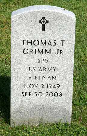GRIMM, THOMAS T. JR. - Accomack County, Virginia   THOMAS T. JR. GRIMM - Virginia Gravestone Photos