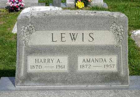 LEWIS, AMANDA S. - Accomack County, Virginia | AMANDA S. LEWIS - Virginia Gravestone Photos