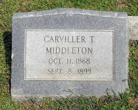 MIDDLETON, CARVILLER T. - Accomack County, Virginia | CARVILLER T. MIDDLETON - Virginia Gravestone Photos