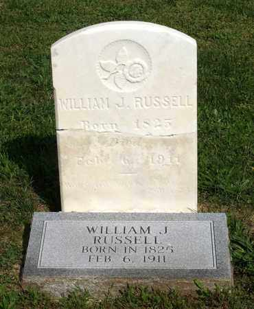 RUSSELL, WILLIAM J. - Accomack County, Virginia | WILLIAM J. RUSSELL - Virginia Gravestone Photos