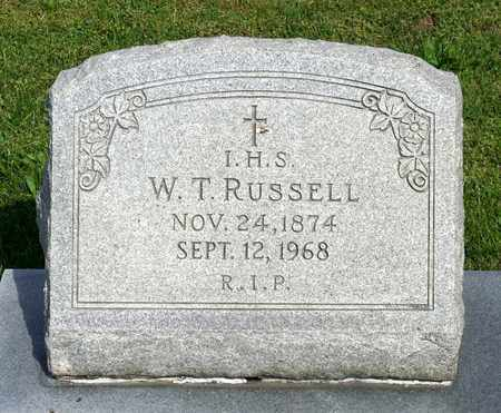 RUSSELL, WILLIAM THOMAS - Accomack County, Virginia | WILLIAM THOMAS RUSSELL - Virginia Gravestone Photos