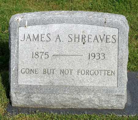 SHREAVES, JAMES A. - Accomack County, Virginia | JAMES A. SHREAVES - Virginia Gravestone Photos
