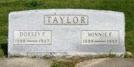 TAYLOR, DORSEY F. - Accomack County, Virginia   DORSEY F. TAYLOR - Virginia Gravestone Photos