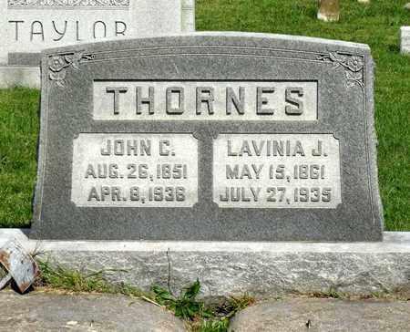 THORNES, JOHN C. - Accomack County, Virginia | JOHN C. THORNES - Virginia Gravestone Photos