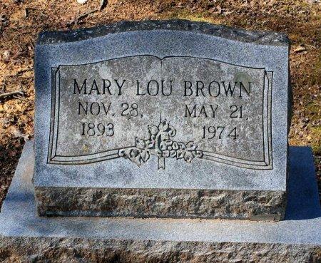 BROWN, MARY LOU - Albemarle County, Virginia | MARY LOU BROWN - Virginia Gravestone Photos