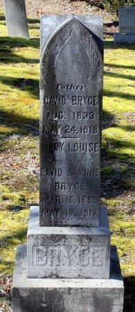 BRYCE, DAVID - Albemarle County, Virginia | DAVID BRYCE - Virginia Gravestone Photos