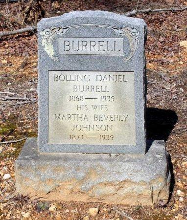 BURRELL, BOLLING DANIEL - Albemarle County, Virginia | BOLLING DANIEL BURRELL - Virginia Gravestone Photos