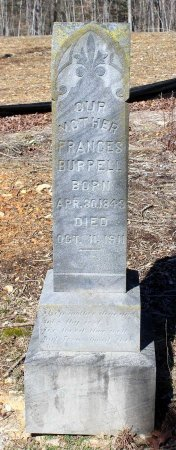 BURRELL, FRANCES - Albemarle County, Virginia | FRANCES BURRELL - Virginia Gravestone Photos