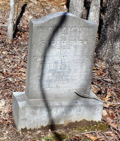 BYRD, SARAH - Albemarle County, Virginia | SARAH BYRD - Virginia Gravestone Photos