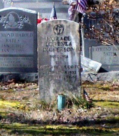 DICKERSON, HORANCE LORENZA - Albemarle County, Virginia   HORANCE LORENZA DICKERSON - Virginia Gravestone Photos