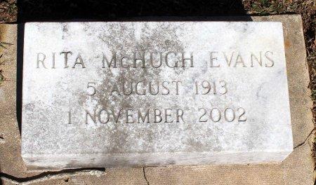 MCHUGH EVAN, RITA - Albemarle County, Virginia | RITA MCHUGH EVAN - Virginia Gravestone Photos