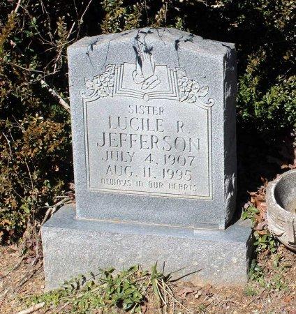 JEFFERSON, LUCILE R. - Albemarle County, Virginia   LUCILE R. JEFFERSON - Virginia Gravestone Photos