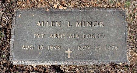 MINOR, ALLEN L. - Albemarle County, Virginia   ALLEN L. MINOR - Virginia Gravestone Photos