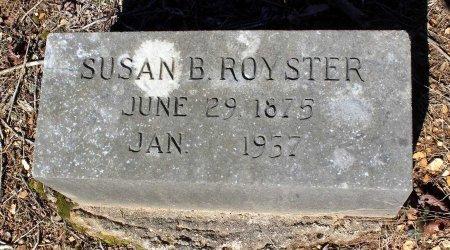 ROYSTER, SUSAN B. - Albemarle County, Virginia   SUSAN B. ROYSTER - Virginia Gravestone Photos