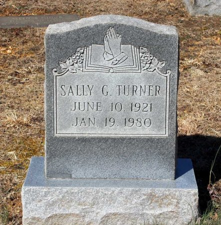 TURNER, SALLY G. - Albemarle County, Virginia   SALLY G. TURNER - Virginia Gravestone Photos