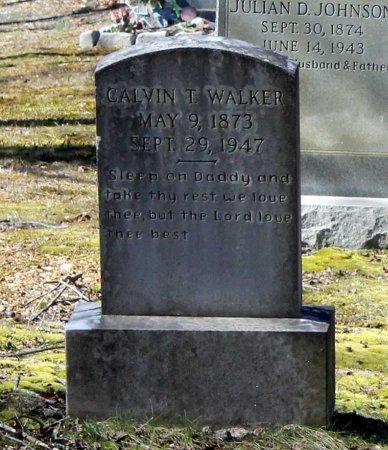 WALKER, CALVIN T. - Albemarle County, Virginia | CALVIN T. WALKER - Virginia Gravestone Photos