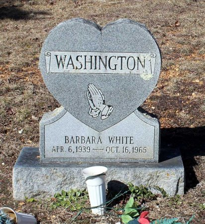 WASHINGTON, BARBARA - Albemarle County, Virginia | BARBARA WASHINGTON - Virginia Gravestone Photos