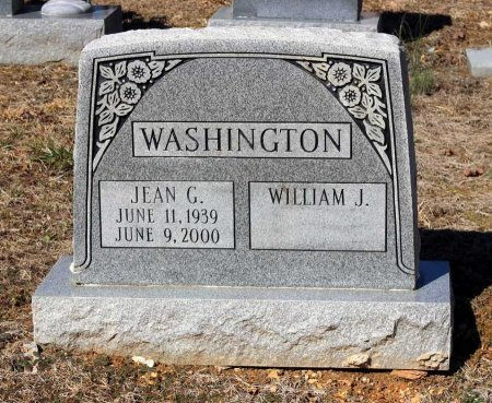 WASHINGTON, JEAN G. - Albemarle County, Virginia | JEAN G. WASHINGTON - Virginia Gravestone Photos