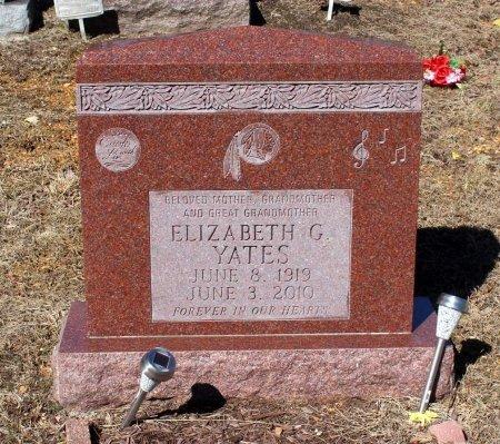 YATES, ELIZABETH G. - Albemarle County, Virginia | ELIZABETH G. YATES - Virginia Gravestone Photos