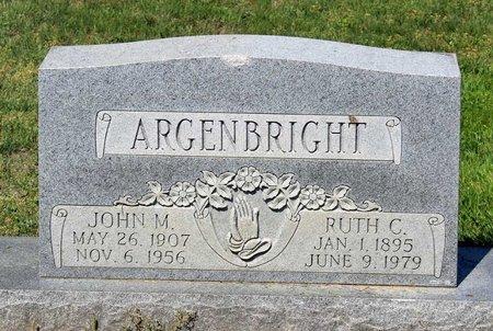ARGENBRIGHT, JOHN M. - Alleghany County, Virginia | JOHN M. ARGENBRIGHT - Virginia Gravestone Photos