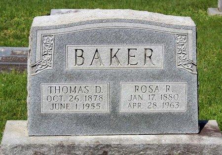 BAKER, ROSA R. - Alleghany County, Virginia | ROSA R. BAKER - Virginia Gravestone Photos