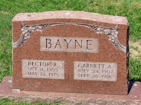 BAYNE, GARNETT A. - Alleghany County, Virginia | GARNETT A. BAYNE - Virginia Gravestone Photos