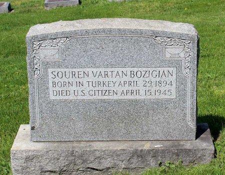 BOZIGIAN, SOUREN VARTAN - Alleghany County, Virginia | SOUREN VARTAN BOZIGIAN - Virginia Gravestone Photos