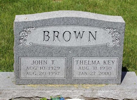 KEY BROWN, THELMA - Alleghany County, Virginia | THELMA KEY BROWN - Virginia Gravestone Photos