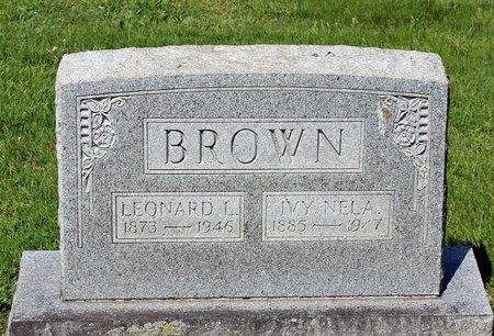 BROWN, IVA NELA - Alleghany County, Virginia | IVA NELA BROWN - Virginia Gravestone Photos