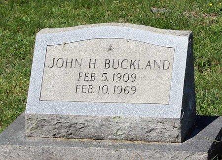 BUCKLAND, JOHN H. - Alleghany County, Virginia | JOHN H. BUCKLAND - Virginia Gravestone Photos