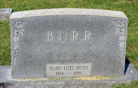 LUTZ BURR, MARY - Alleghany County, Virginia | MARY LUTZ BURR - Virginia Gravestone Photos