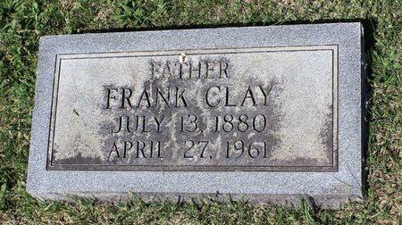 CLAY, FRANK - Alleghany County, Virginia | FRANK CLAY - Virginia Gravestone Photos