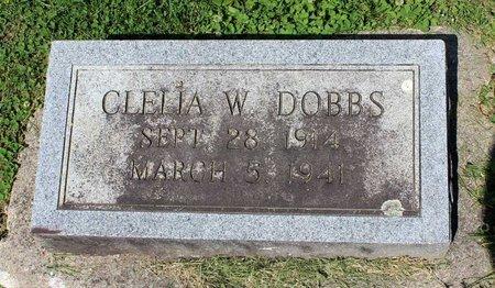 DOBBS, CLELIA W. - Alleghany County, Virginia | CLELIA W. DOBBS - Virginia Gravestone Photos