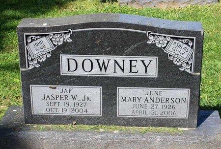 ANDERSON DOWNEY, MARY - Alleghany County, Virginia | MARY ANDERSON DOWNEY - Virginia Gravestone Photos