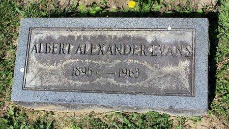 EVANS, ALBERT ALEXANDER - Alleghany County, Virginia   ALBERT ALEXANDER EVANS - Virginia Gravestone Photos