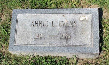 EVANS, ANNIE L. - Alleghany County, Virginia | ANNIE L. EVANS - Virginia Gravestone Photos