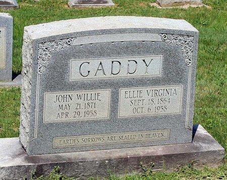GADDY, JOHN WILLIE - Alleghany County, Virginia   JOHN WILLIE GADDY - Virginia Gravestone Photos
