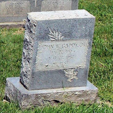 GADDY, JOHN WILLIE JR. - Alleghany County, Virginia | JOHN WILLIE JR. GADDY - Virginia Gravestone Photos