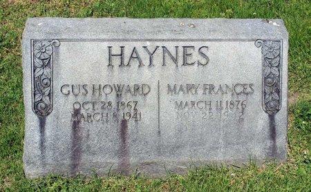 HAYNES, GUS HOWARD - Alleghany County, Virginia   GUS HOWARD HAYNES - Virginia Gravestone Photos