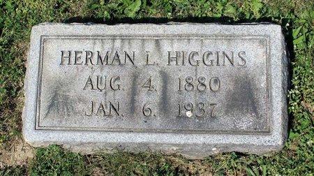 HIGGINS, HERMAN L. - Alleghany County, Virginia | HERMAN L. HIGGINS - Virginia Gravestone Photos