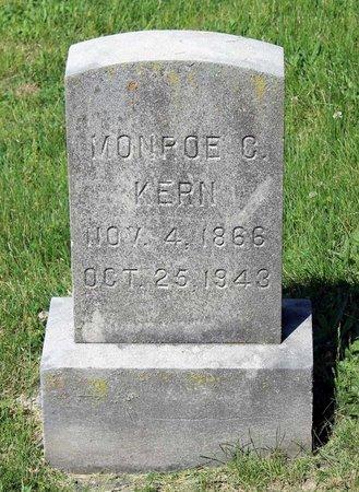 KERN, MONROE C. - Alleghany County, Virginia | MONROE C. KERN - Virginia Gravestone Photos