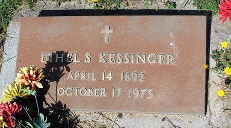 KESSINGER, ETHEL S. - Alleghany County, Virginia | ETHEL S. KESSINGER - Virginia Gravestone Photos