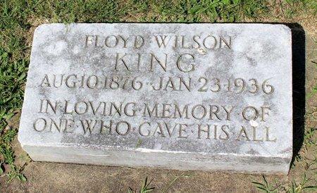 KING, FLOYD WILSON - Alleghany County, Virginia   FLOYD WILSON KING - Virginia Gravestone Photos