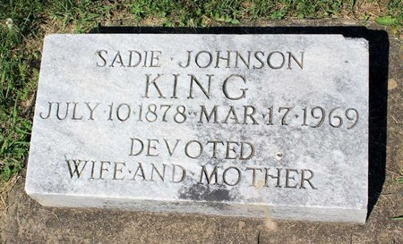 KING, SADIE - Alleghany County, Virginia | SADIE KING - Virginia Gravestone Photos