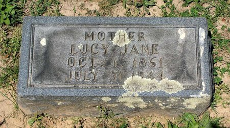 MANSPILE, LUCY JANE - Alleghany County, Virginia | LUCY JANE MANSPILE - Virginia Gravestone Photos