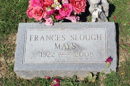SLOUGH MAYS, FRANCES - Alleghany County, Virginia | FRANCES SLOUGH MAYS - Virginia Gravestone Photos