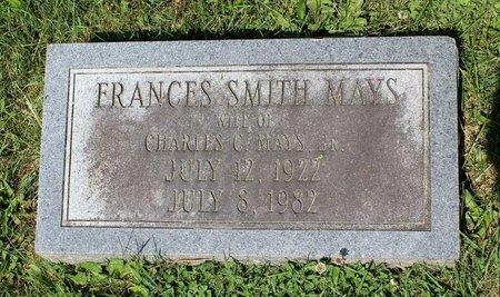 MAYS, FRANCES - Alleghany County, Virginia | FRANCES MAYS - Virginia Gravestone Photos
